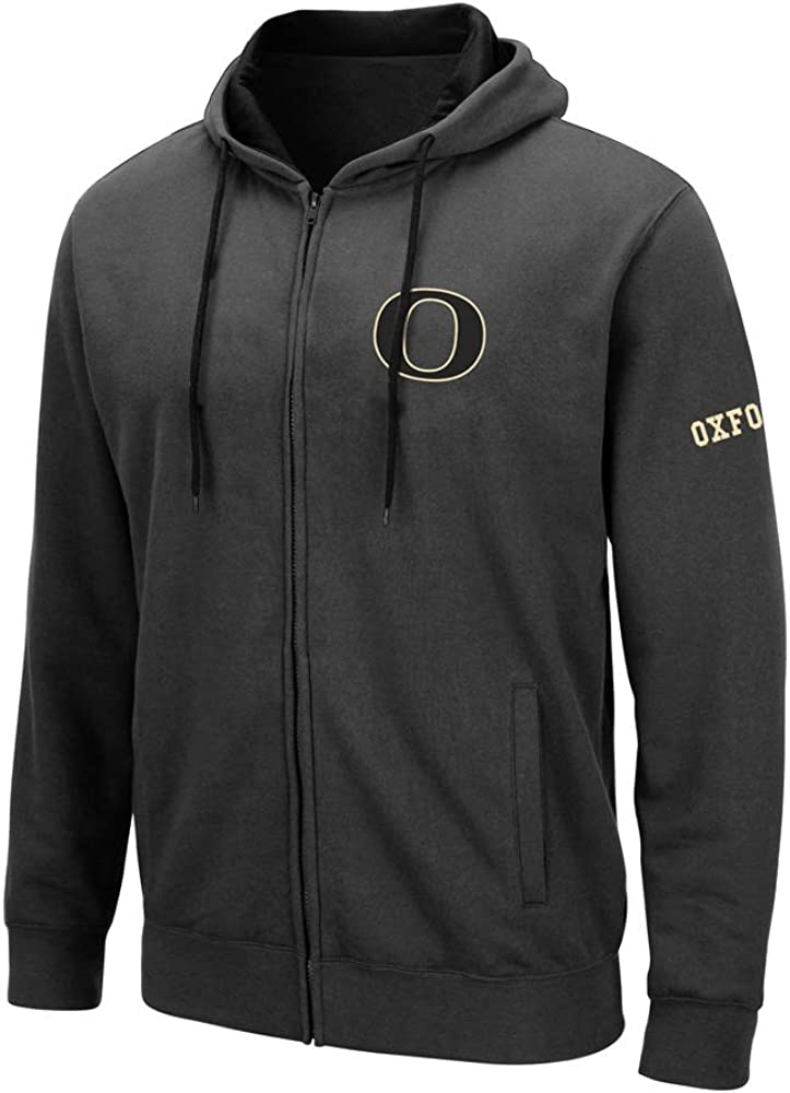 Oxford Charocal Hooded Fleece Jacket Men's (L) Charcoal