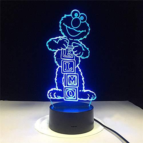 Afghanischer Jagdhund Nachtlicht Illusion Farbwechsel Raumdekoration Lampe Kind Kind Baby Kit Tischlampe Nacht Hund Geschenk