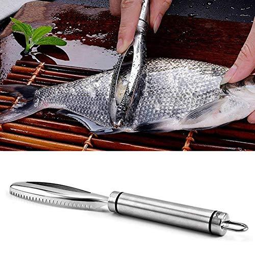 MZY1188 Rimozione della Squama,Detergente per Raschietto per Pesce in Pelle in Acciaio Inox per Raschietto per Squame veloci
