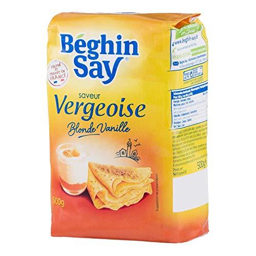 Béghin Say Saveur Vergeoise Blonde Vanille 500g (lot de 6)