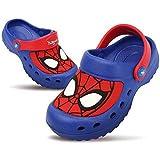 [スパイダーマン] Spiderman ボーイズ クロックススタイル レッド ブルー サンダル (15.0 cm) [並行輸入品]