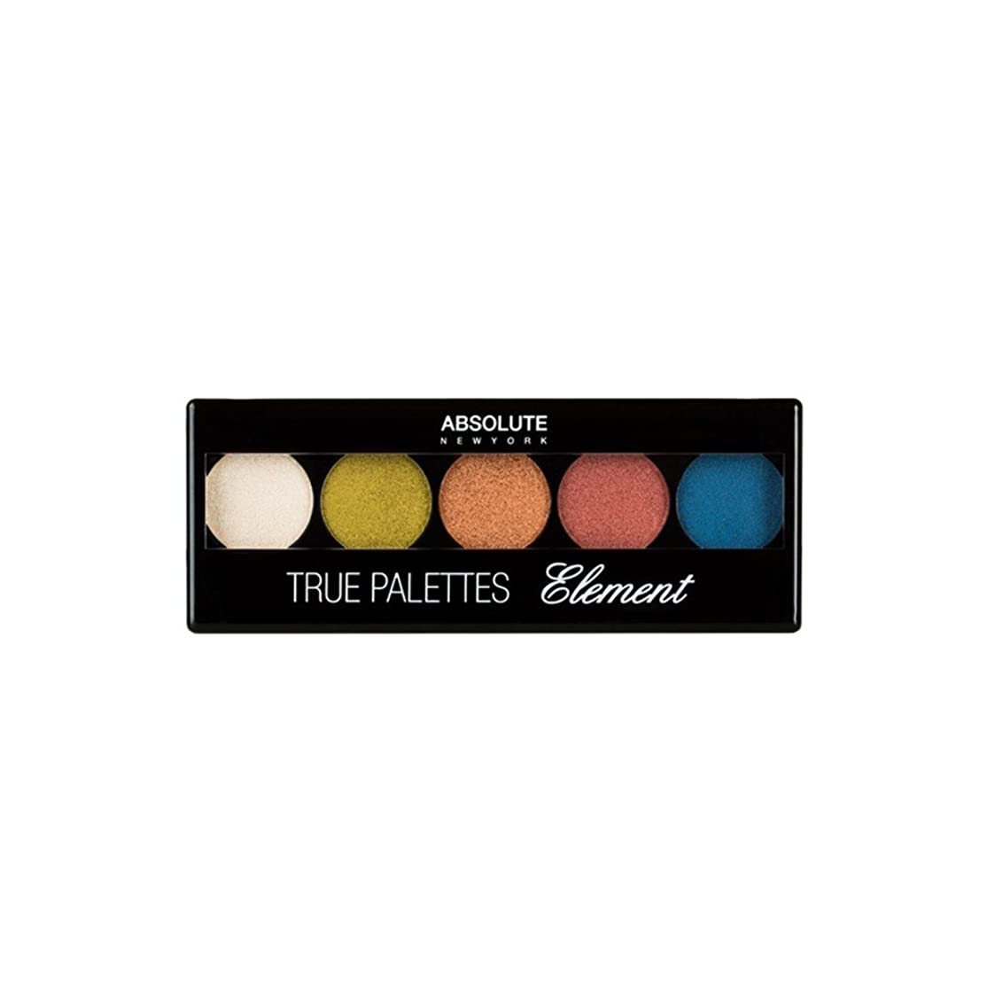 領収書パーチナシティ司令官(3 Pack) ABSOLUTE True Palettes - Element (並行輸入品)