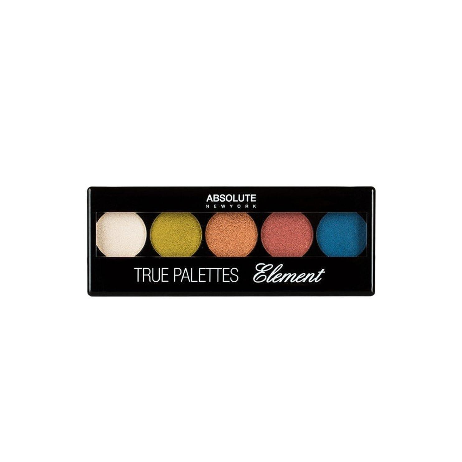 報復する小さい構成する(6 Pack) ABSOLUTE True Palettes - Element (並行輸入品)