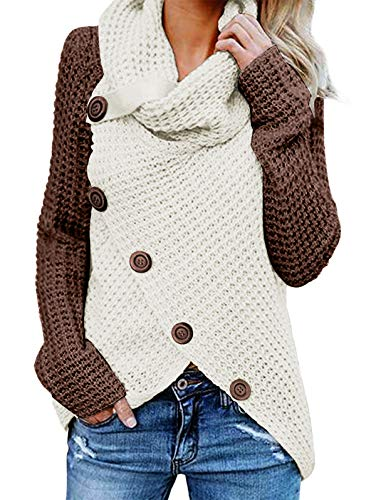 (25% OFF Coupon) Women's Cowl Neck Sweater $33.74