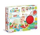 Clementoni-17352 - Soft Clemmy Tapete Sensorial - construcciones blanditas para bebé a partir de 6 meses