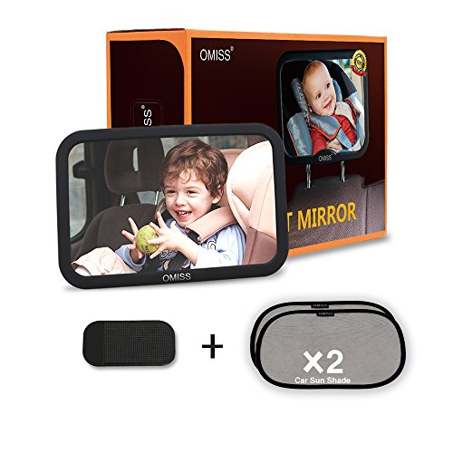OMISS Baby Back Seat Mirror -Baby Car Mirror Larger Than...