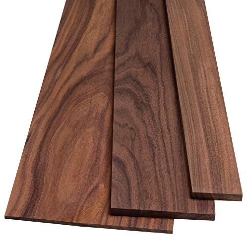 """Bolivian Rosewood by the Piece, 1/8"""" x 1-1/2"""" x 24"""""""