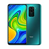 "Xiaomi Redmi Note 9 smartphone - RAM 3GB ROM 64GB 6.53""FHD+ DotDisplay Quad Hotshot da 48 MP 3.5mm headphone jack 5020 mAh NFC Forest Green"