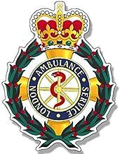 london ambulance service badge