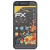 atFolix Panzerfolie kompatibel mit WileyFox Spark X Schutzfolie, entspiegelnde & stoßdämpfende FX Folie (3X)