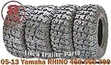 FREE COUNTRY 8PR Premium ATV Tires 25x8x12 & 25x10x12 fit 05-13 Yamaha RHINO 450 660 700