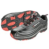 Cofra JV003-000 - Zapatos de seguridad nuevo tamaño de los zapatos de trabajo de trabajo diablo s3 volar 43, negro,