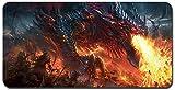 World of Warcraft großes Mauspad - wasserdicht und rutschfest (49, 900 * 400 * 3MM/35.5 * 15.7 * 0.12inch)