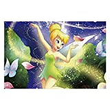 Puzzle Tinkerbell and Fairy Flying (9) 1000 Pieces Jigsaw Puzzle Fun Indoor Activity for Adults and Families Gift
