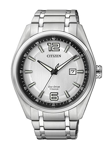 Citizen AW1240-57B - Reloj de Cuarzo para Hombre, con Correa