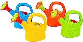 TOYANDONA 2Pcs Plastic Watering Can Toys, Watering Pot Bathtub Toys, Beach Bath Toys Play House Toys, Little Garden Tools ...