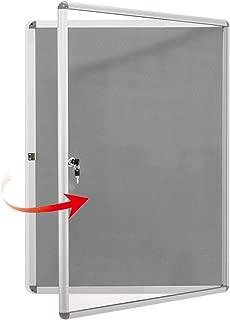 locking wall display case