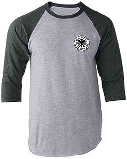 Germany Soccer Futbol Retro Vintage National Team Raglan Baseball Tee Shirt