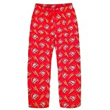 Arsenal FC Official Football Gift Mens Lounge Pants Pajama Bottoms Red Large