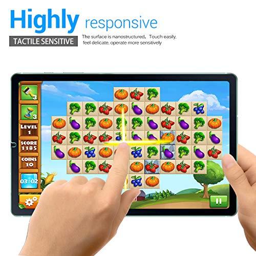ELTD Displayschutzfür Samsung Galaxy Tab S6 Lite, Rounded Corners 2.5D, 9H Härte, gehärtetes Displayfolie Schutzglas für Samsung Galaxy Tab S6 Lite 10,4 Zoll (2 Stück)