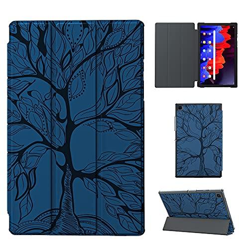 Panpang Funda para Samsung Galaxy Tab A7 10.4 2020,Funda Ultra Fina y Liviana Carcasa Tipo Libro Smart Cover con Función de Soporte para Samsung Galaxy Tab A7 T505/T500/T507 10.4 2020 , Armada