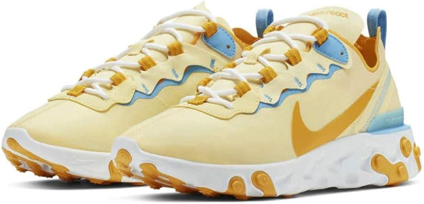 Amazon.com | Jordan Nike React Element 55 BQ2728-800 in Sunny ...