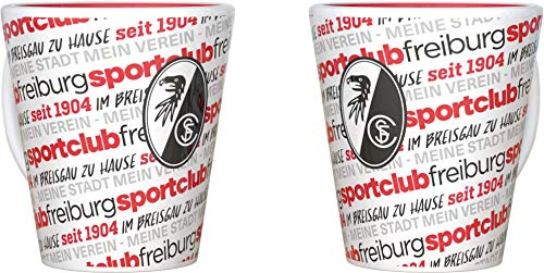 SC Freiburg Tasse, Becher Allover