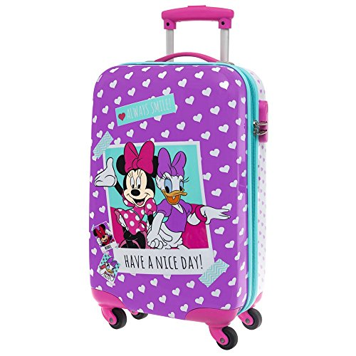 Disney Minnie Daisy Nice Day Bagage Cabine, 55 cm, 37.4 L, Rose