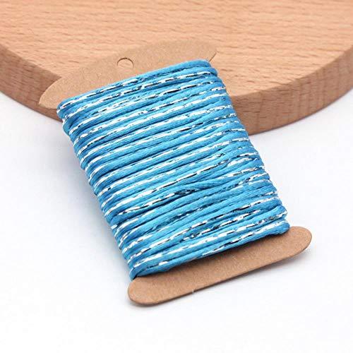 Yener katoenen touw kraal sieraden koord draad Chinese knoop Macrame Rattail touw voor DIY Fashion armband gevlochten lijn, V