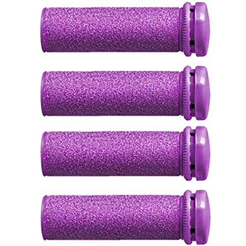 Emjoi Micro-Pedi Compatible SoftFLEX Technology Refill Rollers (Xtreme Coarse) - Pack of 4