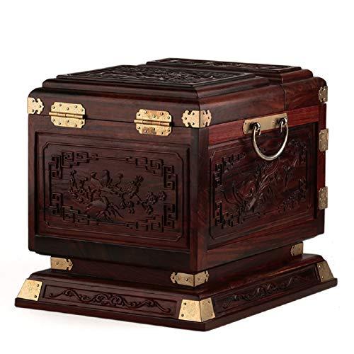 MR SCJ Wohnkultur Palisander palisander Holz schmuck Box schmuck Box Geschnitzte Holz Hochzeit Box Spiegel mit Schloss C1051
