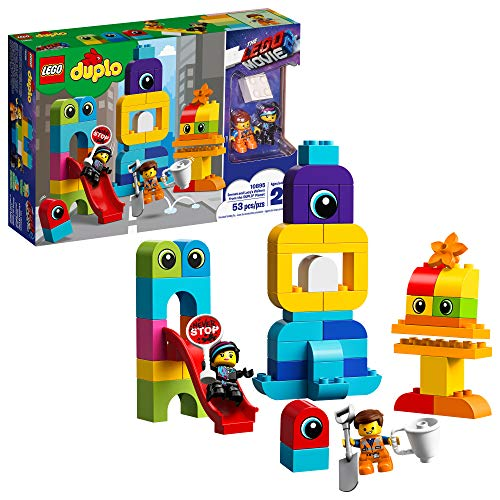 LEGO Duplo The Movie 2 Emmet and Lucy's Visitors from The Duplo Planet 10895 Building Bricks, 2019 (53 Pieces) JungleDealsBlog.com