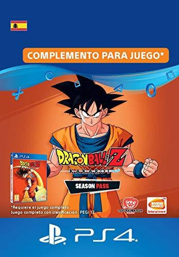 DRAGON BALL Z: KAKAROT Season Pass Season Pass   Código de descarga PS4 - Cuenta española