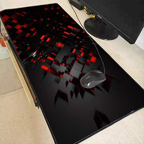 Personality Black and Red Pattern Gaming...