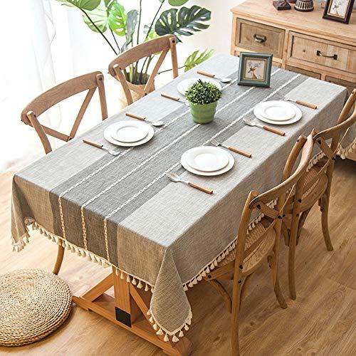 Wondder Cotton Linen Table Cloth...