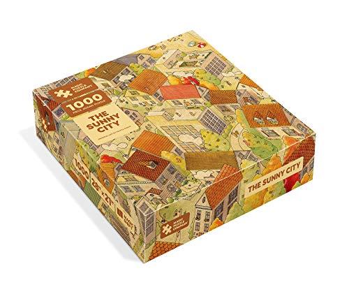 The Sunny City - 1000-Piece Jigsaw …