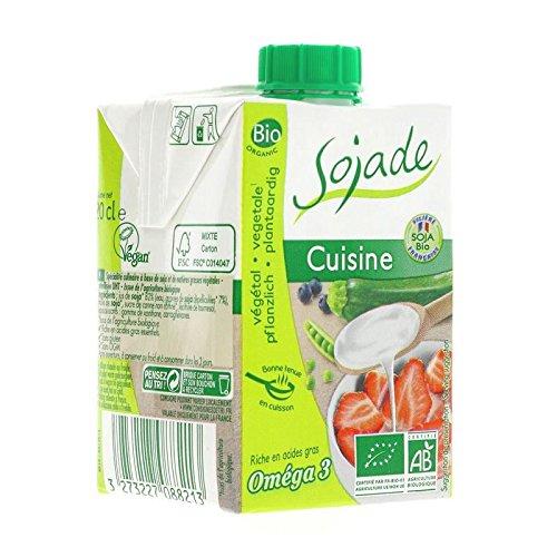 Sojade | Cuisine- Organic Soya Cream | 6 x 200ml