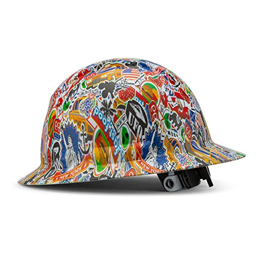 Full Brim Pyramex Hard Hat