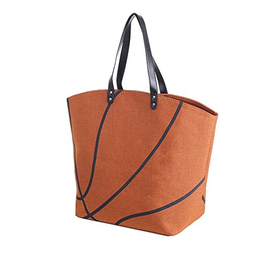 E-FirstFeeling Large Basketball Tote Bag Sports...