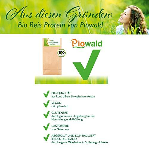BIO Reisprotein 80% – 1 kg Vorratspackung - 2