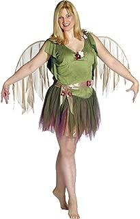 Adult Women's Plus Size Green Fairy Costume (12)