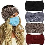 VEEJION Women Knitted Warm Twisted Headbands With...