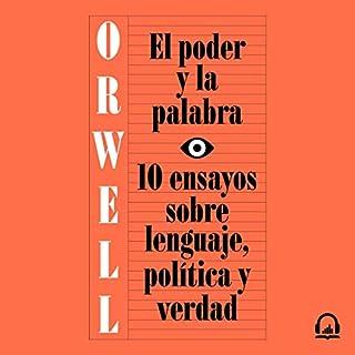 El poder y la palabra [Power and Words] audiobook cover art