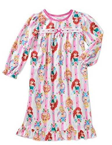 Disney Princess Baby Girls Granny Gown Nightgown (24 Months)