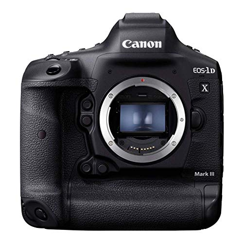 Canon EOS-1D X Mark III DSLR Camera | with CFexpress Card & Reader Bundle kit | 20.1 MP Full-Frame CMOS Image Sensor | DIGIC X Image Processor | 4K Video | and Dual CFexpress Card Slots, Black