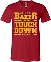 Call Him Baker The Touch Down Cleveland Maker Football T-Shirt - V-Neck Shirt