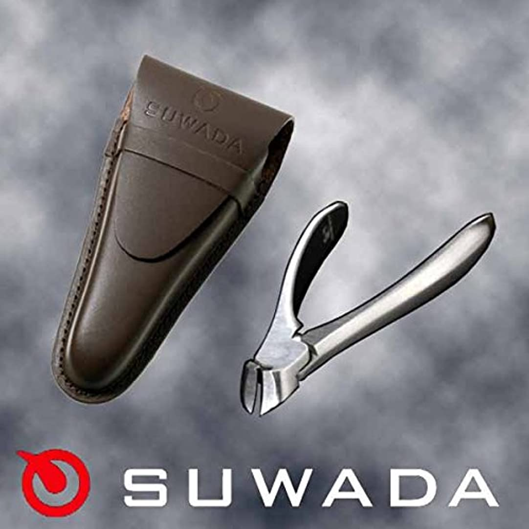 放置パテ専門知識SUWADA爪切りクラシックS&ブラウン(茶)革ケースセット 特注モデル 諏訪田製作所製 スワダの爪切り