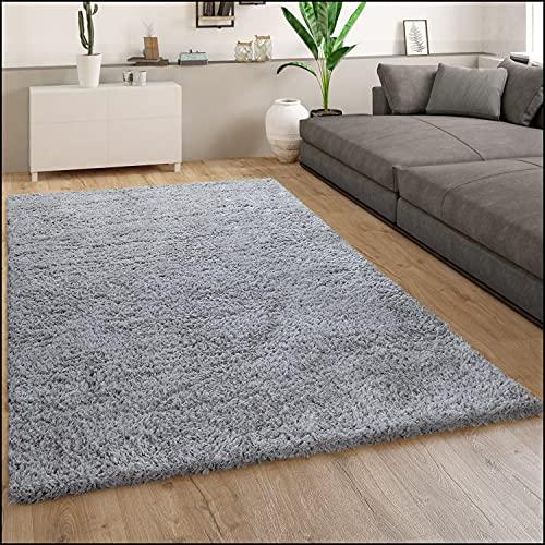 Paco Home -   Hochflor Teppich,