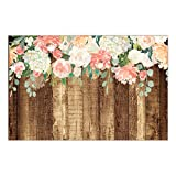 25 Count Rustic Country Paper Place Mats Pretty Floral Blooms Engagement Graduation Parties Bridal Shower Wedding Reception Easy Cleanup Disposable Table Settings 17' x 11' DB Party Studio Placemats