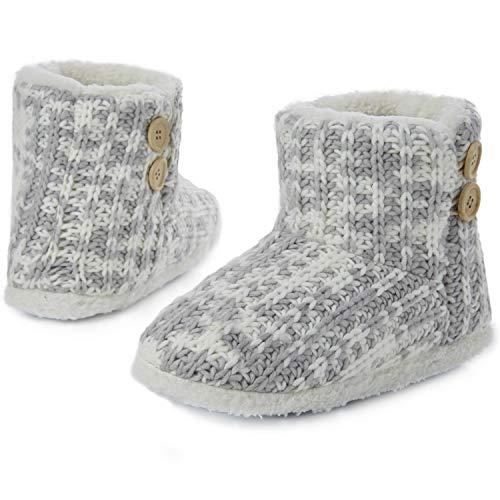 Citycomfort Pantuflas Bota Mujer | Zapatillas Casa Bota Mujer Invierno Cerradas | Botas...